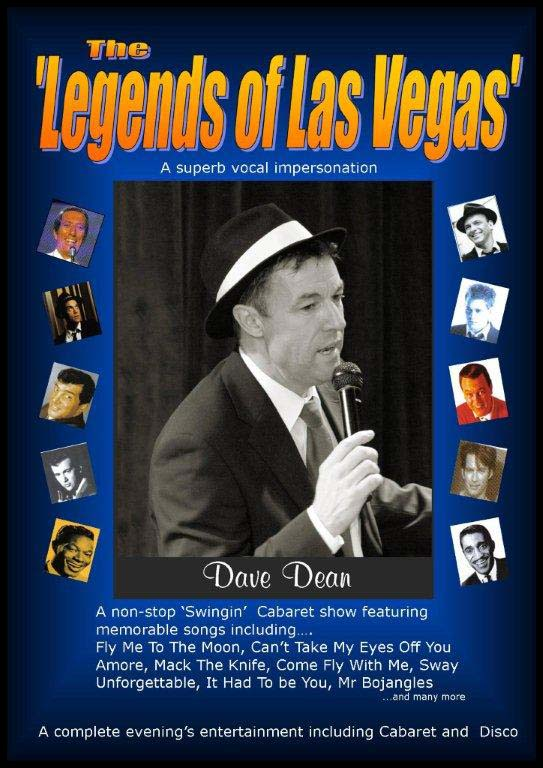 Dave Dean Legends of Las Vegas Tribute Act